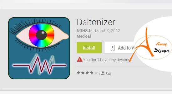 Daltonizer-android-uygulama-amacdizayncom