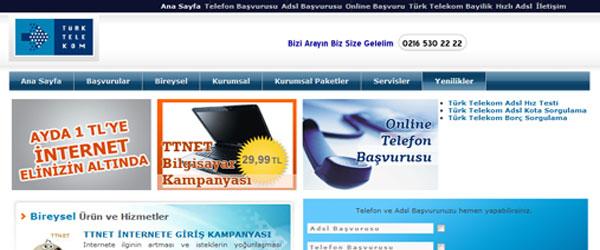 Türk Telekom Üsküdar Web Tasarımı