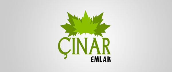 Çınar Emlak Logo Tasarımı