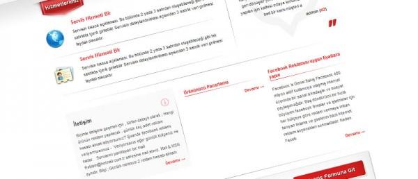 Facebook Reklam Web Tasarım Çalışması