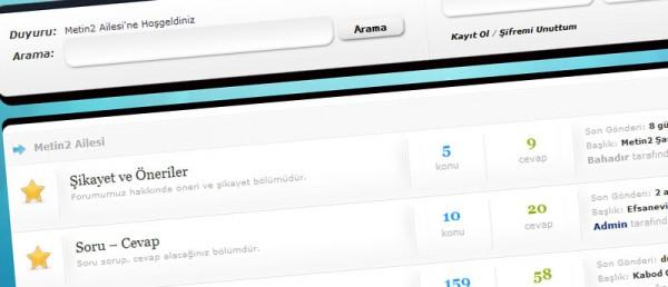 Metin2ailesi.com Wordpress Tema Tasarımı