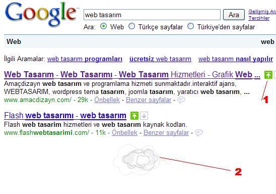 google arama sonuçlarını kişiselleştirme