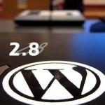 wordpress 2.8